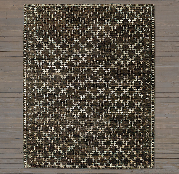 Kata Rug Swatch - Chocolate