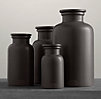 Flatiron Union Stoneware Bottles Charcoal