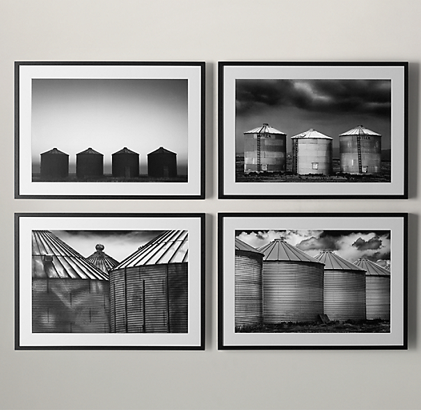 Cole Thompson: Grain Silo Series Silo 4