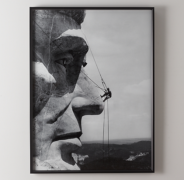 Gutzon Borglum: Mount Rushmore Repair 1962