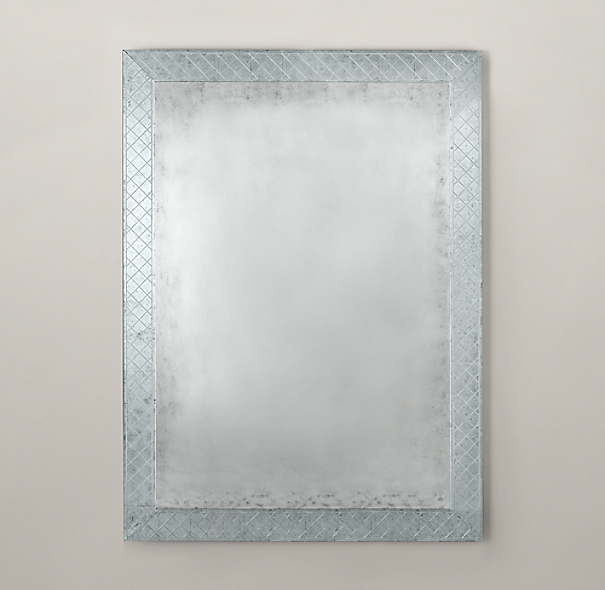 18th C. Venetian Cut-Glass Mirror