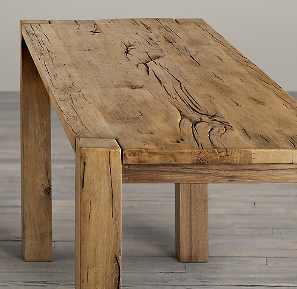 Parsons Russian Oak Counter Table