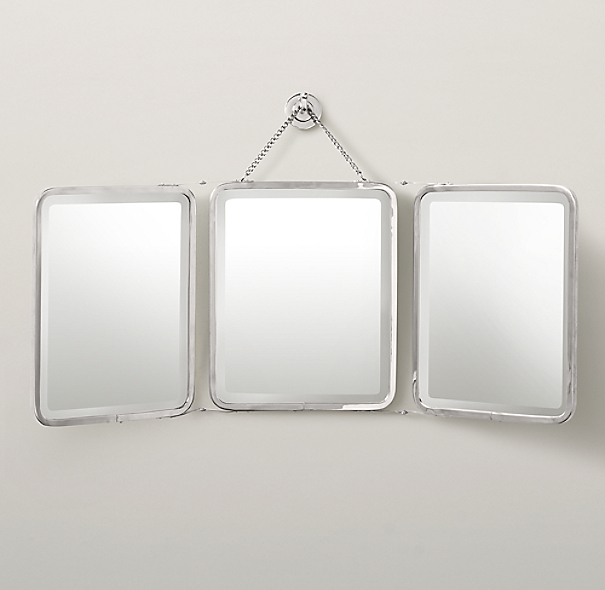 Triptych Wall Mirror Small