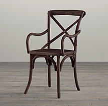 Madeleine Armchair Stained Wood