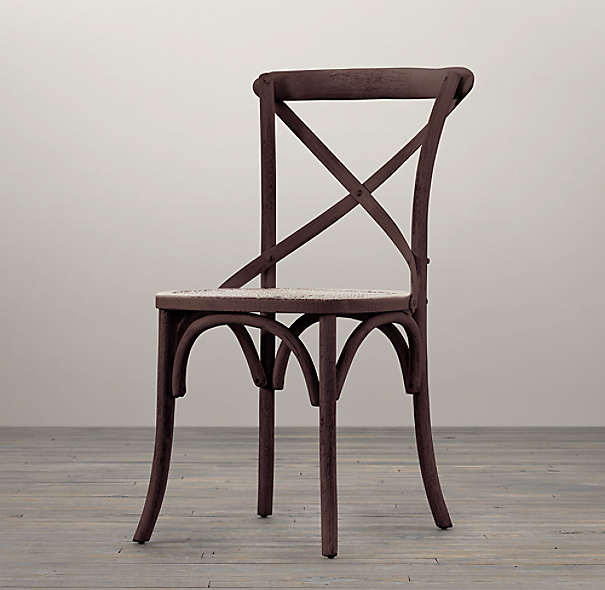 Madeleine Side Chair Stained Wood