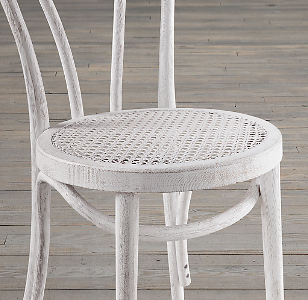 French Café Stained Wood Chair