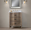 Empire Rosette Powder Vanity Sink