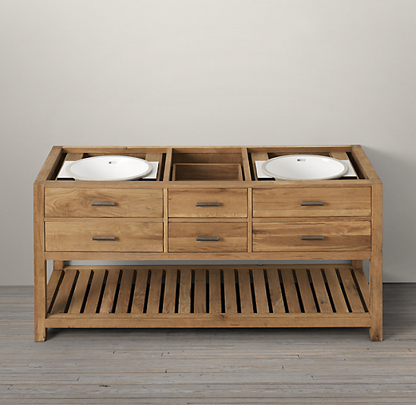 Logan Double Washstand Base