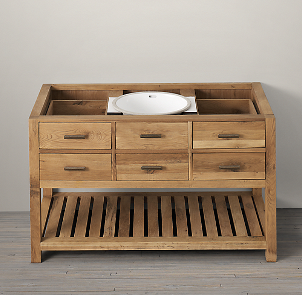 Logan Extra Wide Single Washstand Base