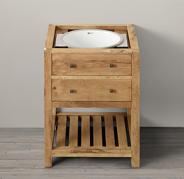 Logan Powder Room Washstand Base