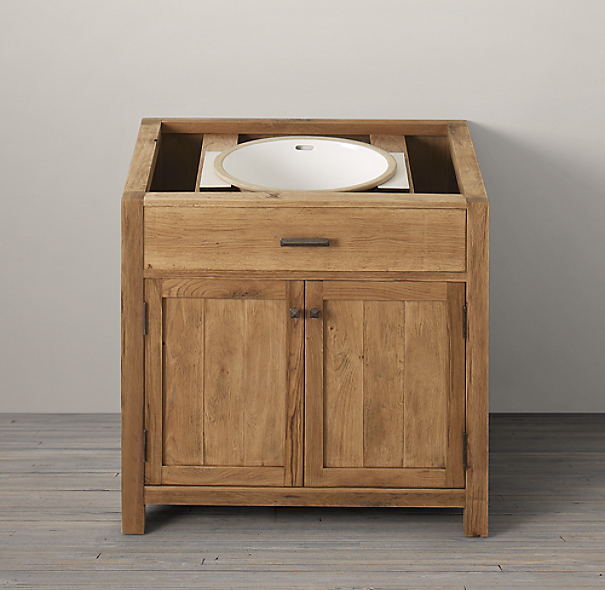 Logan Single Vanity Sink Base