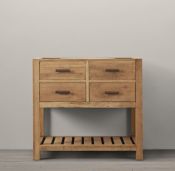 Logan Single Washstand Base