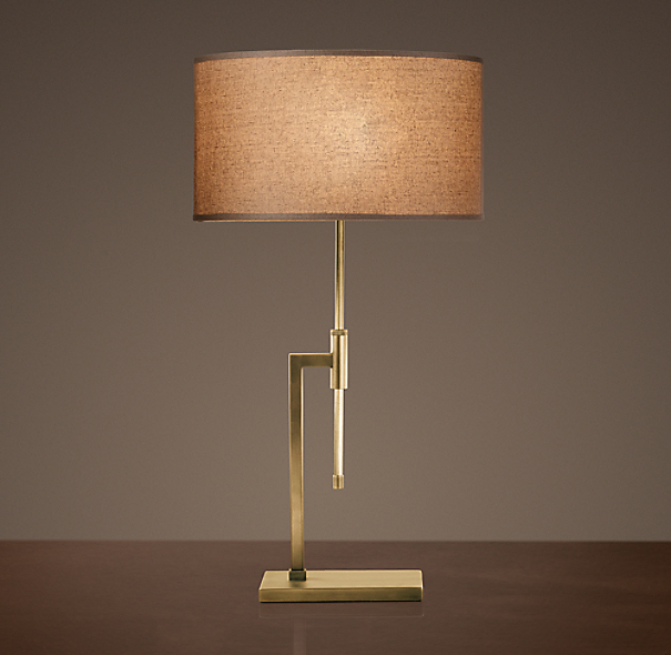 Menlo Table Lamp Antique Brass