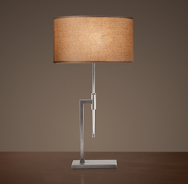 Menlo Table Lamp Polished Nickel