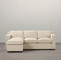 Collins Upholstered Left-Arm Sofa Chaise Sectional
