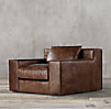 Capri Leather Swivel Chair