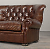 6' Churchill Leather Sofa without Nailheads