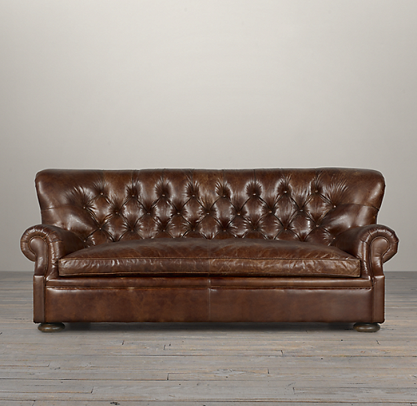 Churchill Leather Sofas