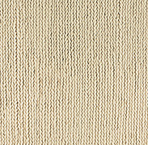 Chunky Braided Wool Rug Swatch - Cream