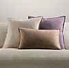 Italian Cotton Basket Weave Pillow Covers