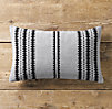 Moroccan Atlas Reverse Stripe Lumbar Pillow Cover