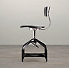 Vintage Toledo Dining Chair Black Enamel