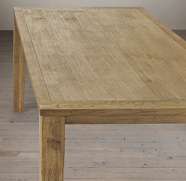 Parsons Tapered Leg Dining Tables