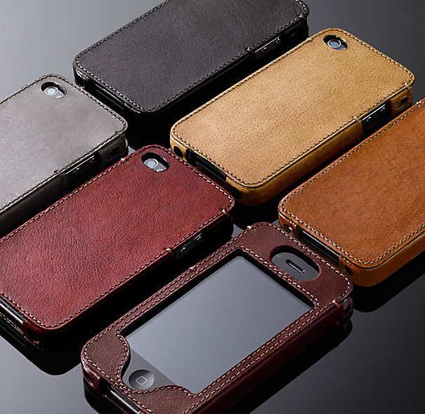 Artisan Leather iPhone® 4 & 4S Cover - Camel