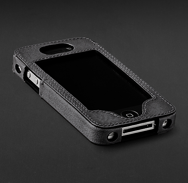 Artisan Leather iPhone® 4 and 4S Cover - Slate