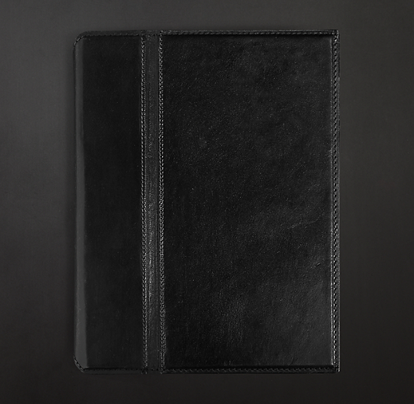 Artisan Leather iPad® Cover - Ebony