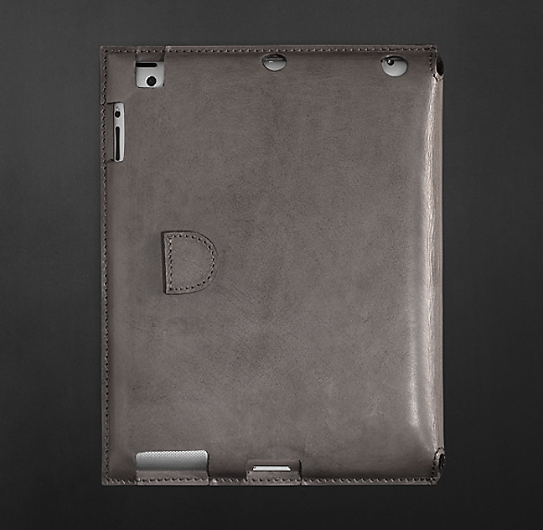 Artisan Leather iPad® Cover - Slate