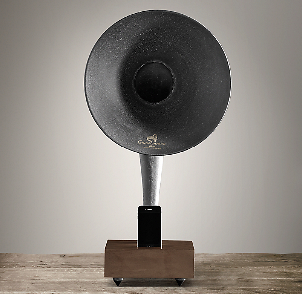 Restoration Hardware Gramophone: All Things Beautiful, Sophisticated