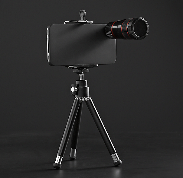 iPhone® 4 and 4S Zoom Lens & Tripod
