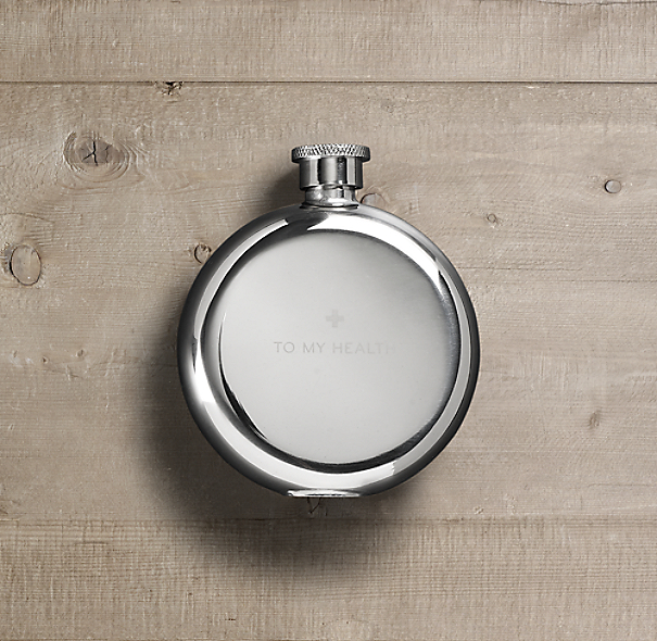 """To My Health"" Steel Flask"