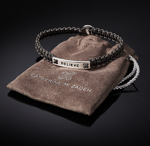 Believe Bracelet - Grey