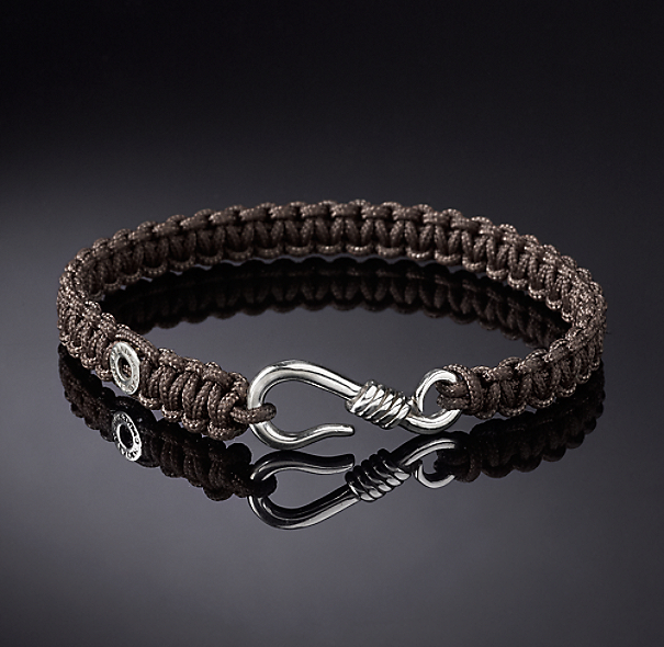 Hook Macrame Bracelet - Brown