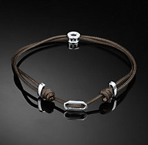 Adjustable St. Tropez Bracelet - Brown
