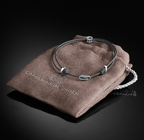 Adjustable St. Tropez Bracelet - Grey