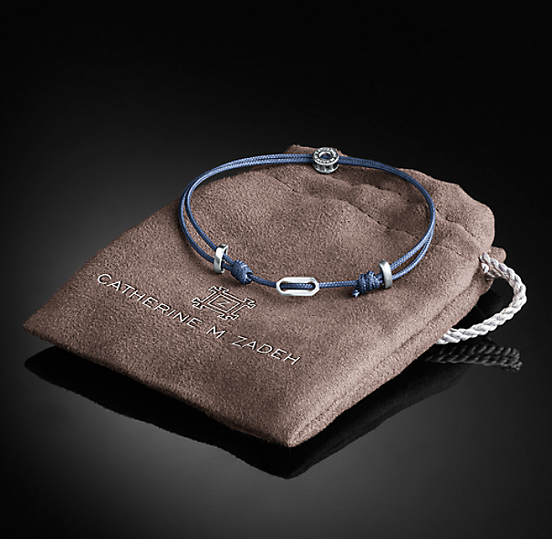 Adjustable St. Tropez Bracelet - Navy