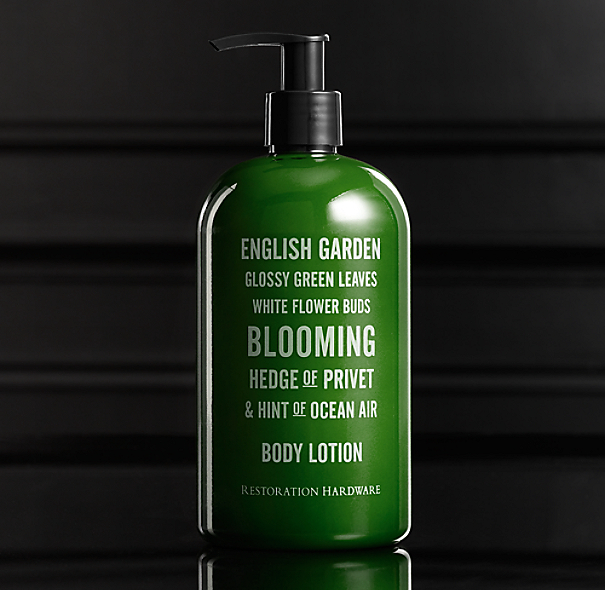 European Scent Lotion - English Garden