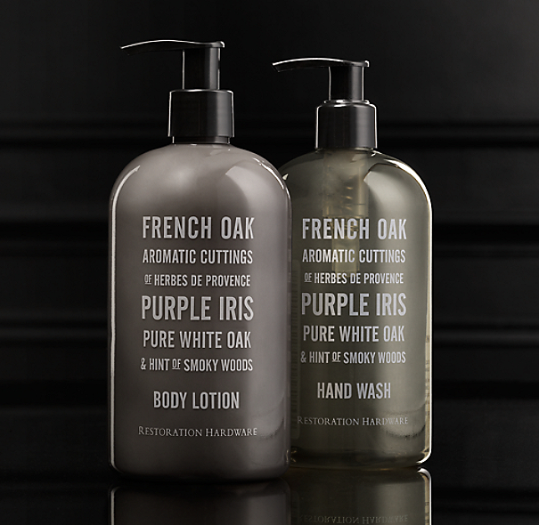 French Oak Soap & Lotion Collection