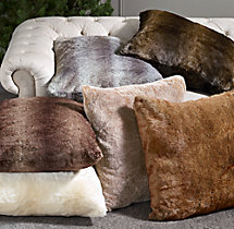 Luxe Faux Fur Floor Cushion