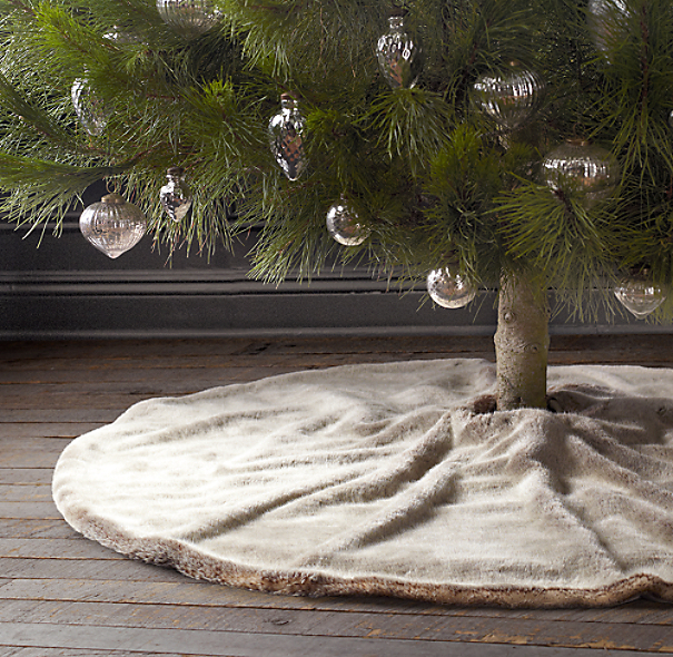 Luxe Faux Fur Tree Skirt