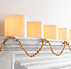 Small Beaded Garland - Gold