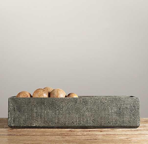 Sculptural Stone Vessel Trough Large