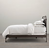 French Académie Iron Bed without Footboard