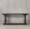 Balustrade Salvaged Wood Console Table