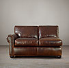 Lancaster Leather Left-Arm Sofa
