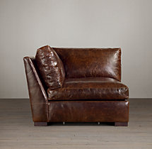 Maxwell Leather Corner Chair