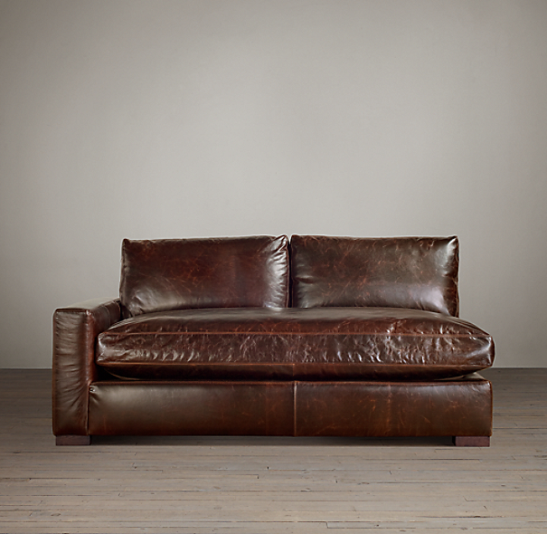 Maxwell Leather Left-Arm Sofa